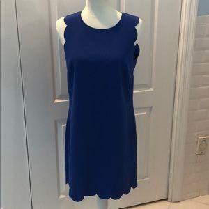 J. Crew scalloped dress, size 10